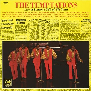the temptations live at london