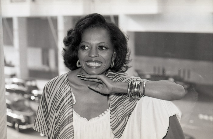 Diana Ross EMI staff A5295-002